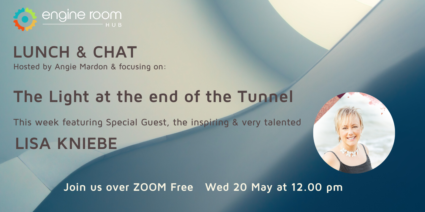 LUNCH & CHAT with Special Guest Lisa Kniebe – Wed 20 May at NOON