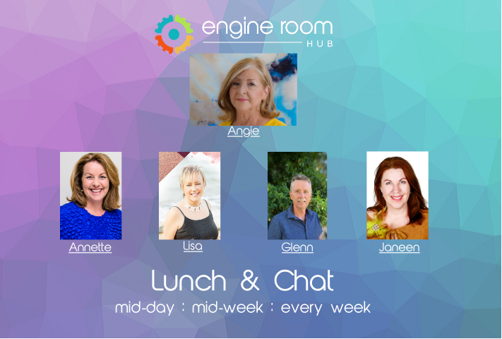 Lunch & Chat – With Engine Room Hub