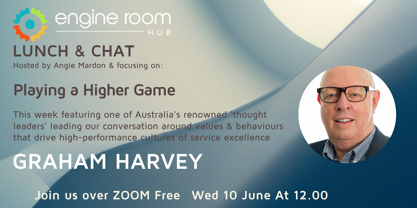 Lunch & Chat with Graham Harvey – 10 June